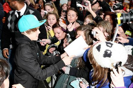 obsessive justin bieber fans. Justin Bieber fans.