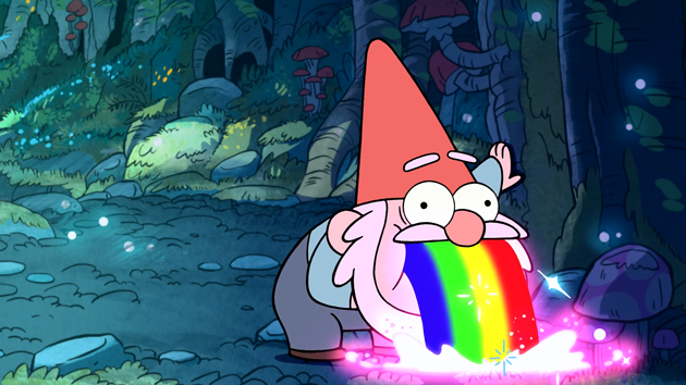 gnome-puking-rainbows-gravity-falls